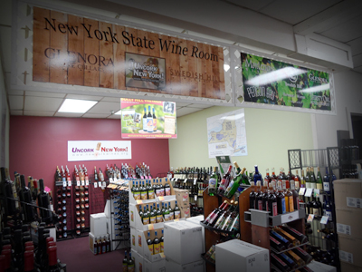 New York State Wine Room