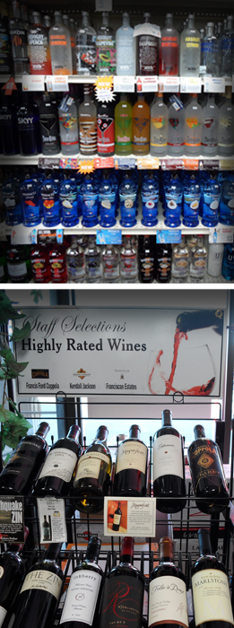 Highly Rate Wines and Top Shelf Spirits