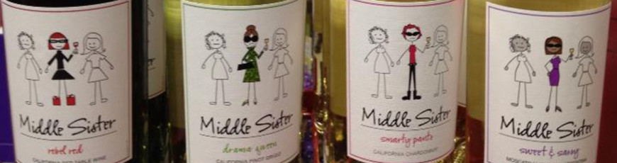 Middle Sister wines and cocktails in stock!