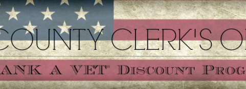 "CORDIALLY YOURS PROUDLY PARTICIPATES IN ERIE COUNTY CLERKS ""THANK A VET"" DISCOUNT PROGRAM"