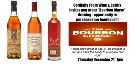 Yes we have Pappy Van Winkle again this year for the Bourbon Chase!